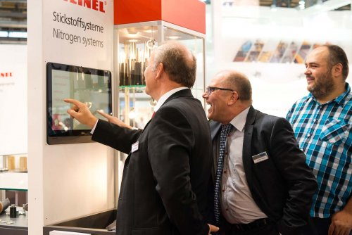 Euroblech Hannover . Messestand . Impression