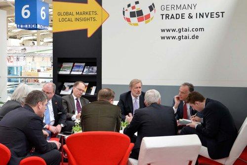 Hannover Messe . GTAI . Gesprächskreis