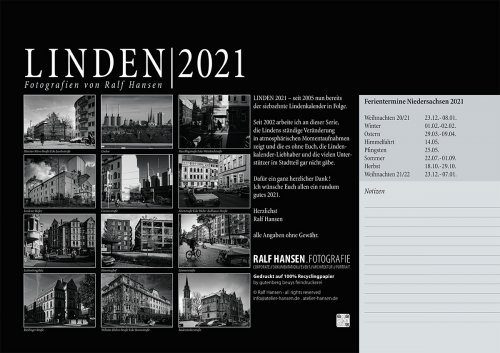 publikationen Lindenkalender 2021 Übersicht
